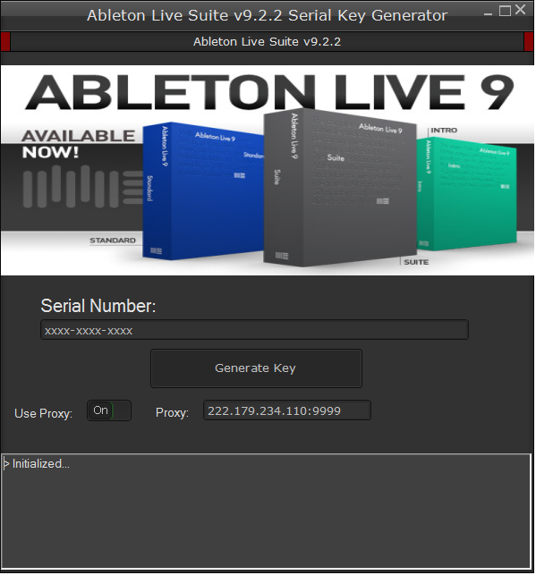 ableton live serial number generator