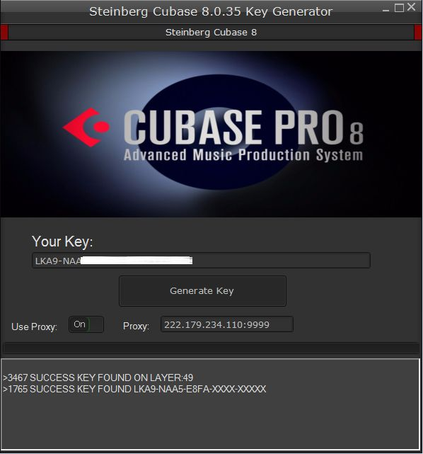 activation key for cubase 7