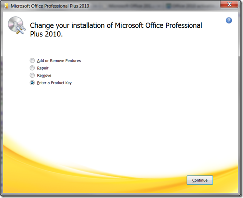 product key microsoft office 2010 plus