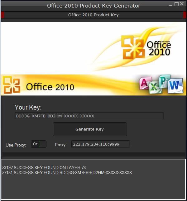 office 2010 key download