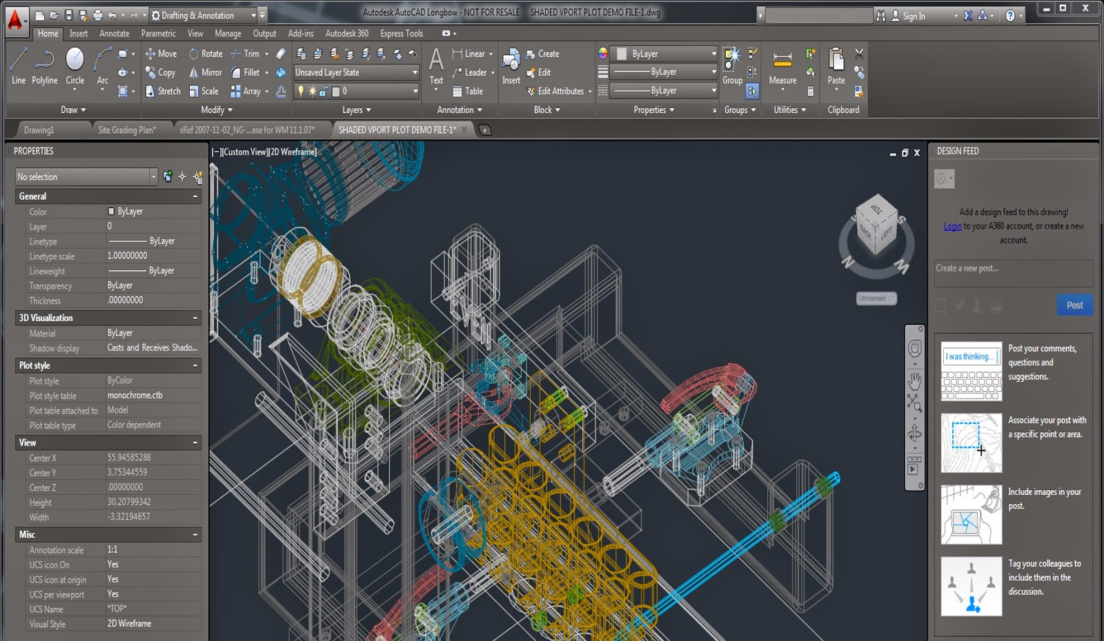 AutoCAD 2015 - Main User Interface