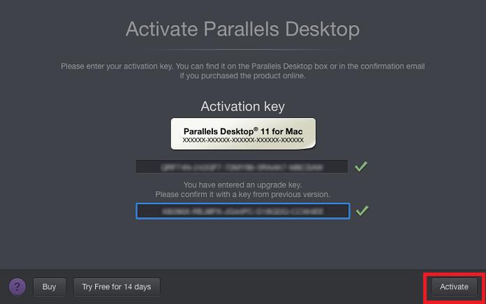 Parallels Desktop 11 Activation Key Crack Serial For Mac