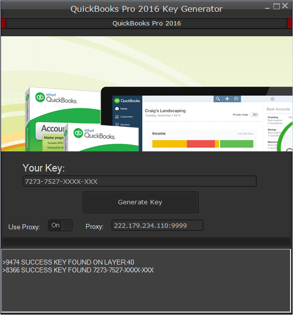 QuickBooks Pro 2016 Key