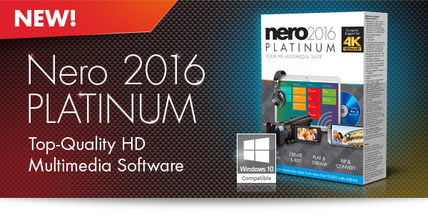 Nero 2016 Crack Key Serial Number Free Download