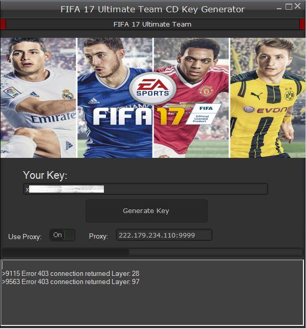 fifa 17 key generator free download