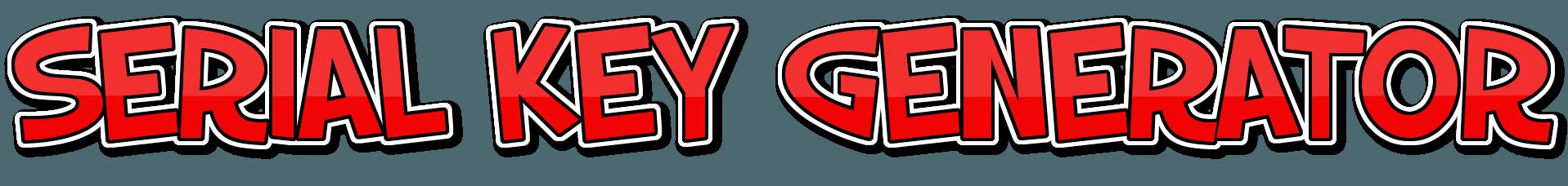 Serial Key Generator Free