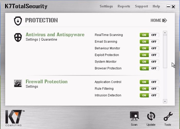 k7 total security serial key free download
