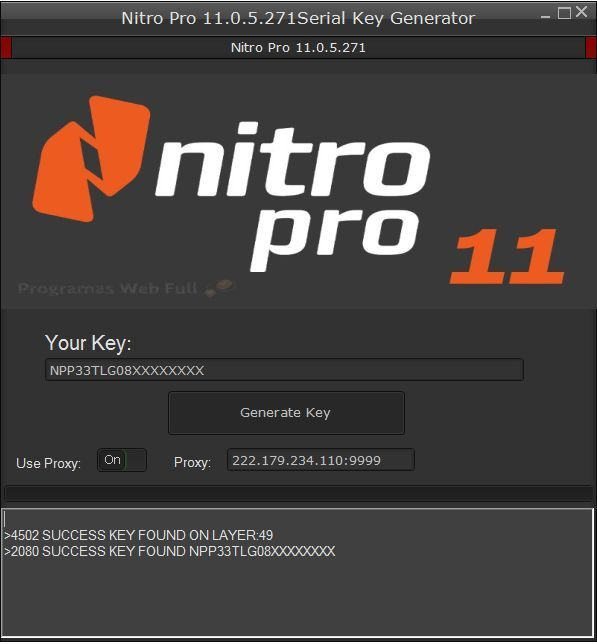 Nitro Pro 11 Crack Full Serial Number Key 2018 Free ...